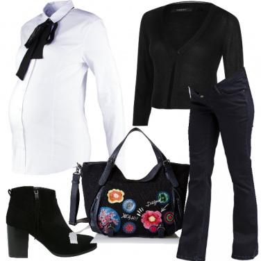 Outfit Mamma a passeggio