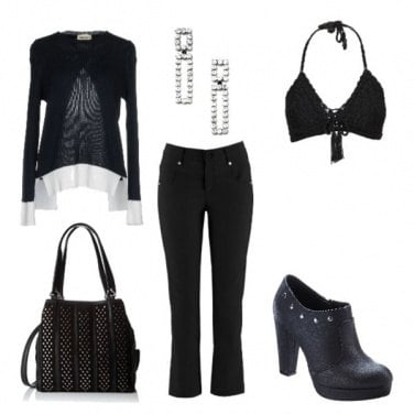 Outfit Dark party