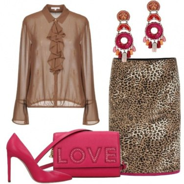 Outfit Maculato in autunno