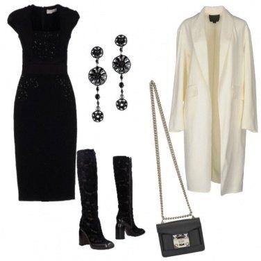 Outfit Il tubino e gli stivali