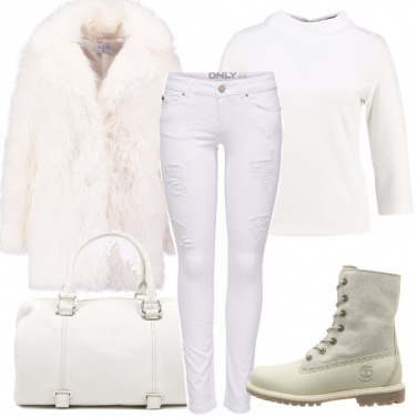 Outfit Sportive in bianco