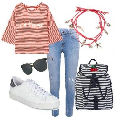 Outfit Studiare con stile