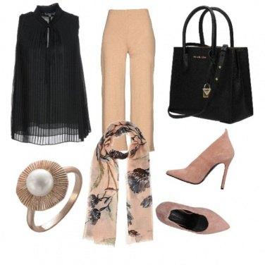 Outfit CMPS Rose noir