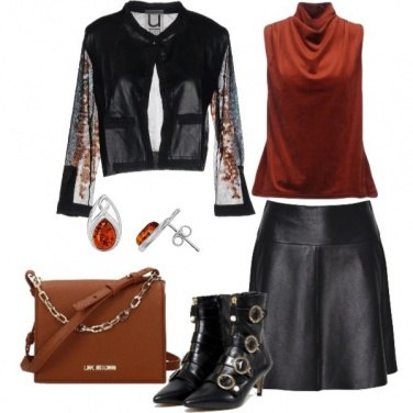 Outfit Vestire in pelle