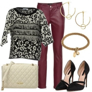 Outfit Animalier ed ecopelle