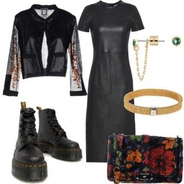 Outfit Tubino nero -SO Trendy