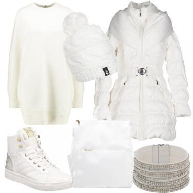 Outfit Bianco brillante