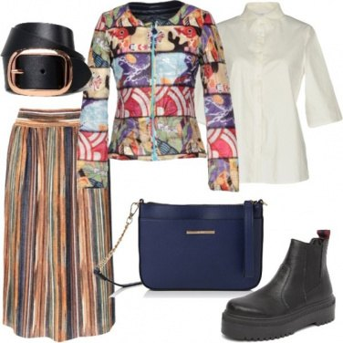 Outfit Il trapuntino patchwork