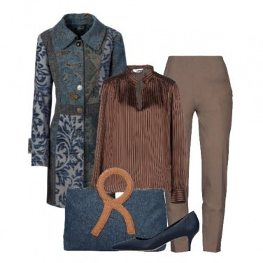 Outfit Righe a fantasia