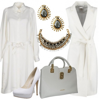 Outfit Sofisticato bianco