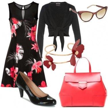 Outfit Bon ton floreale