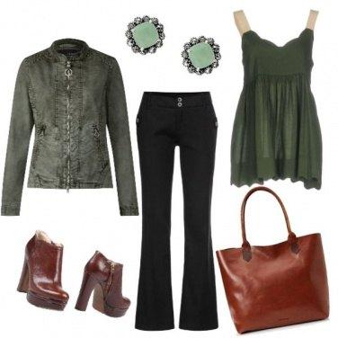 Outfit Pronta per l\'autunno