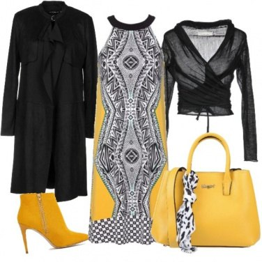 Outfit I must have yellow bag