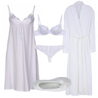 Outfit Sensualità bianca