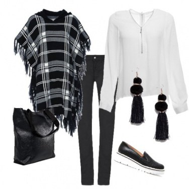 Outfit Black & Withe