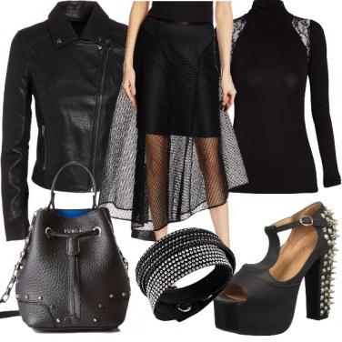 Outfit Brezza rock