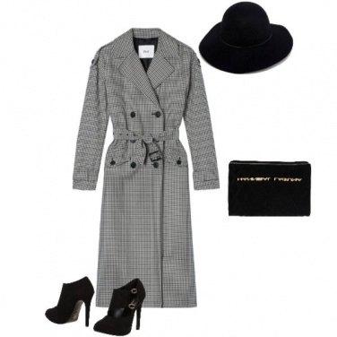 Outfit Sombre et échecs