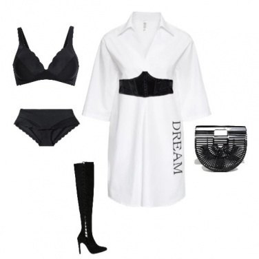 Outfit B&W Dream