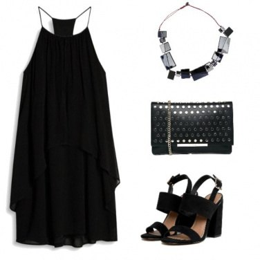 Outfit Total black, always chic