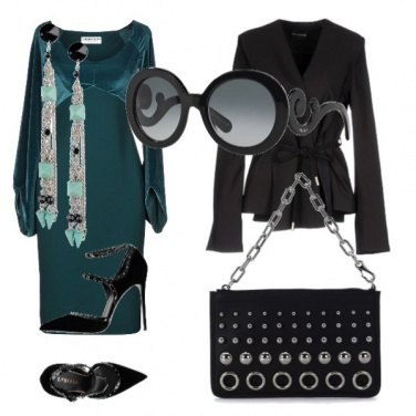 Outfit Aperitivo autunnale in velluto