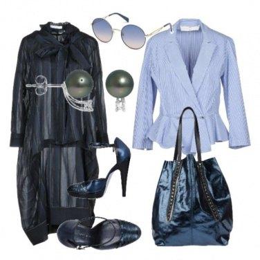 Outfit Raffinate trasparenze