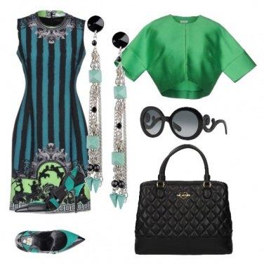 Outfit Sfumature verdi