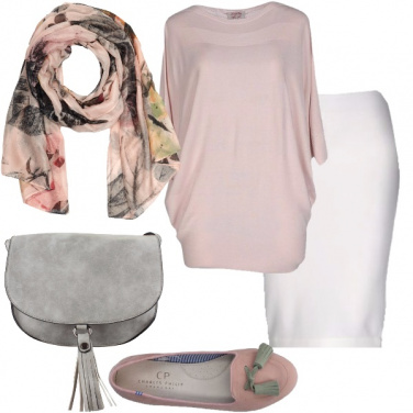 Outfit Inverno in pastello