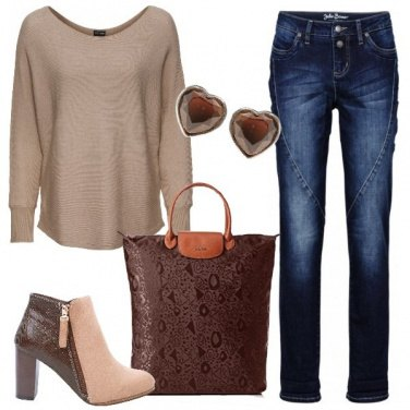 Outfit Pullover oversize