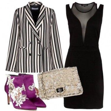 Outfit Tubino accessoriato