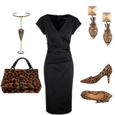 Outfit Tribale animalier