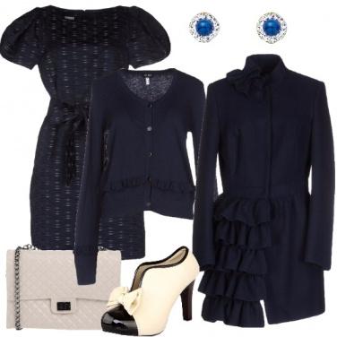 Outfit Romantico blu
