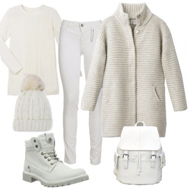 Outfit Fiocco di bianco