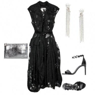 Outfit Look da red carpet