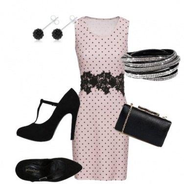Outfit Pink Bon ton