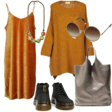 Outfit Giallo oversize