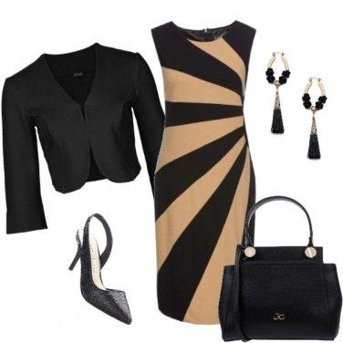 Outfit L\'abito zebrato
