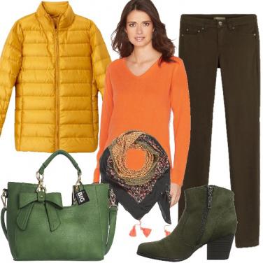 Outfit I colori del bosco