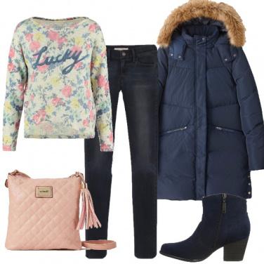 Outfit Moderna e romantica