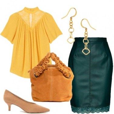 Outfit Bon ton colorato