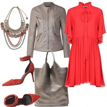 Outfit Rosso da giorno