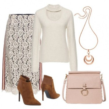 Outfit Lace and knit