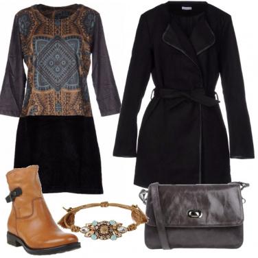Outfit Vestito fantasia etnica