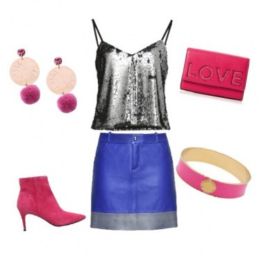 Outfit Disco Pink