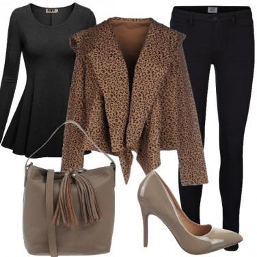 Outfit Grinta ed eleganza