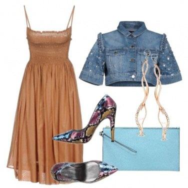 Outfit La scarpa Denim