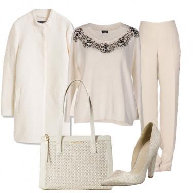 Outfit Elegantemente bianco