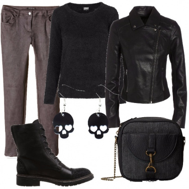 Outfit Un\'anima rock