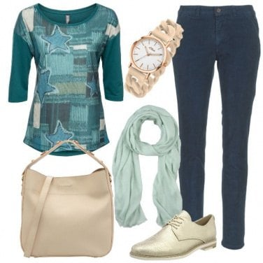 Outfit Stringate brillanti