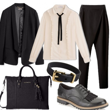 Outfit Tailleur alternativo