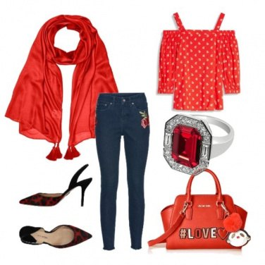 Outfit Compleanno in giardino